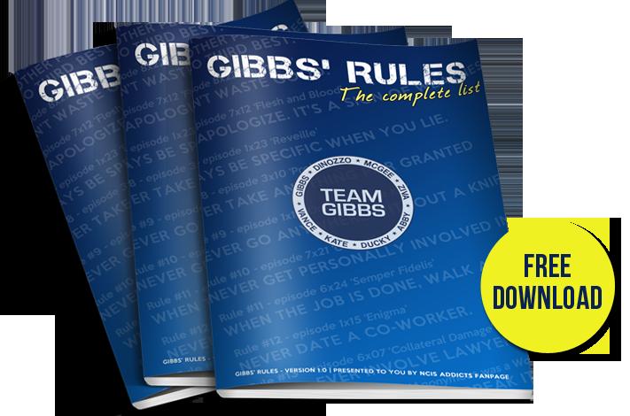 Refreshing image intended for ncis gibbs rules printable list