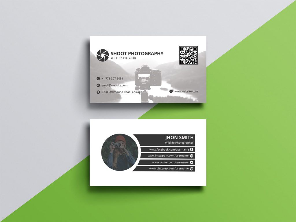 5 Best Business Card Design For Photographers Photographer Business Cards Cool Business Cards Business Cards Creative