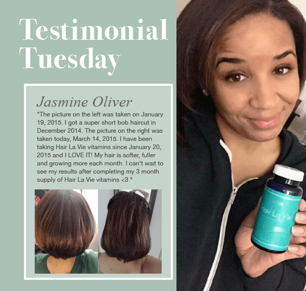 Jasmine Is Stocked With Her Hair La Vie Reviews Naturalhair Hairgrowth Longhair Hair La Vie Organic Hair Care Chemical Free Hair