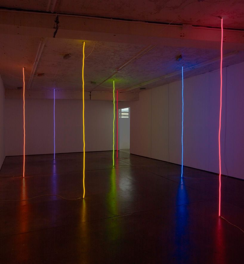 peter coffin's cosmolology +1 at herald street #lightartinstallation