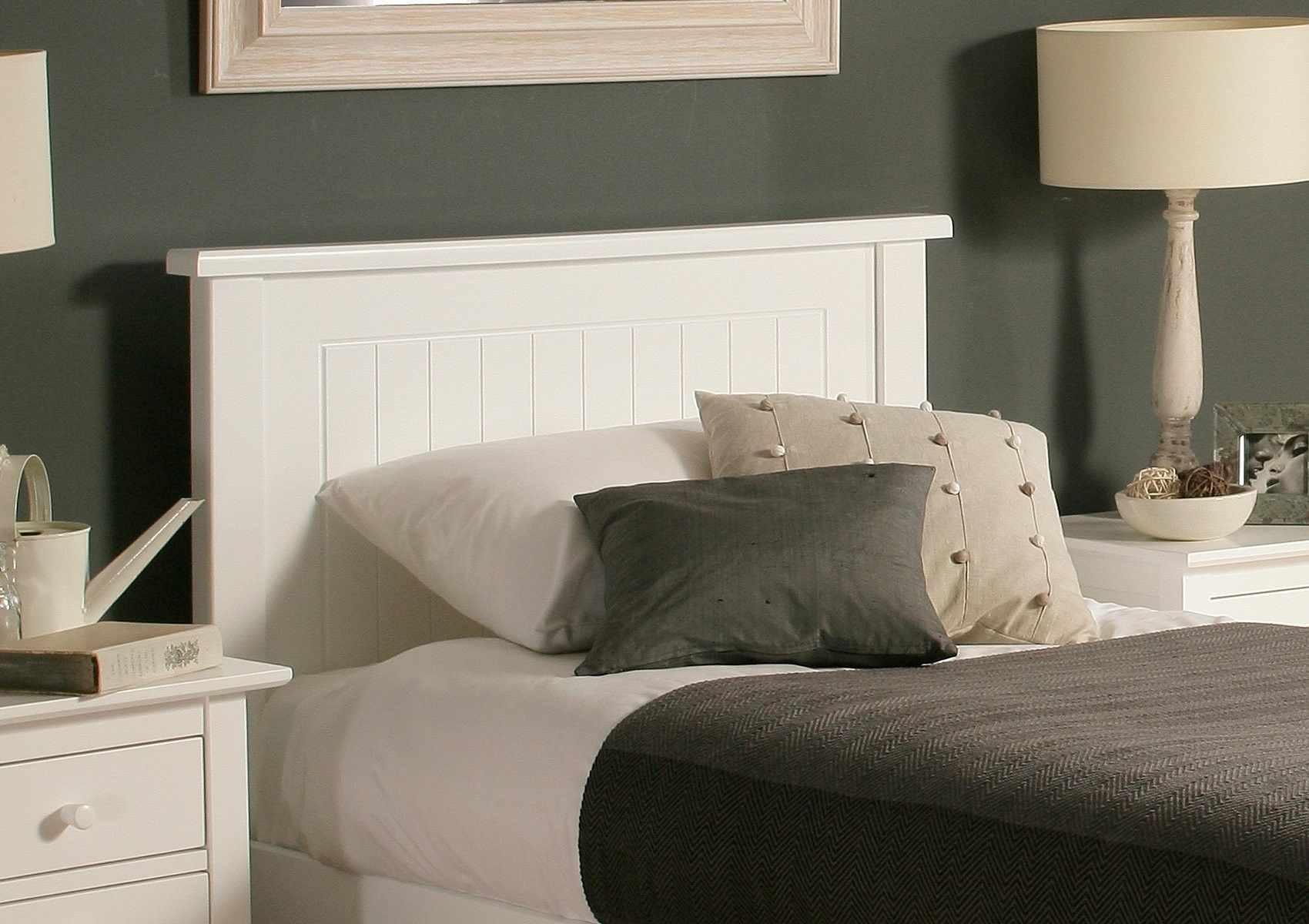 New England Solo Wooden Bed Frame Wooden bed frames