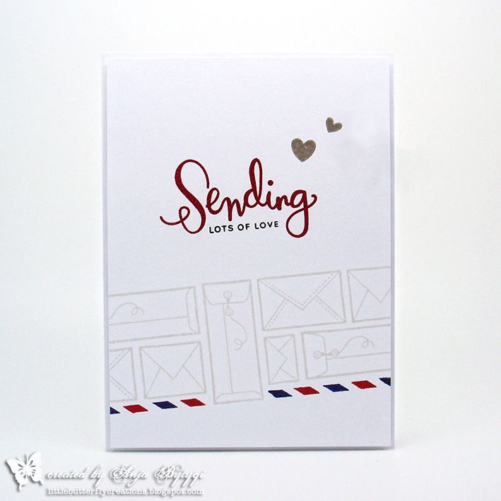 Simon Says Stamp • Sending Lots of Love