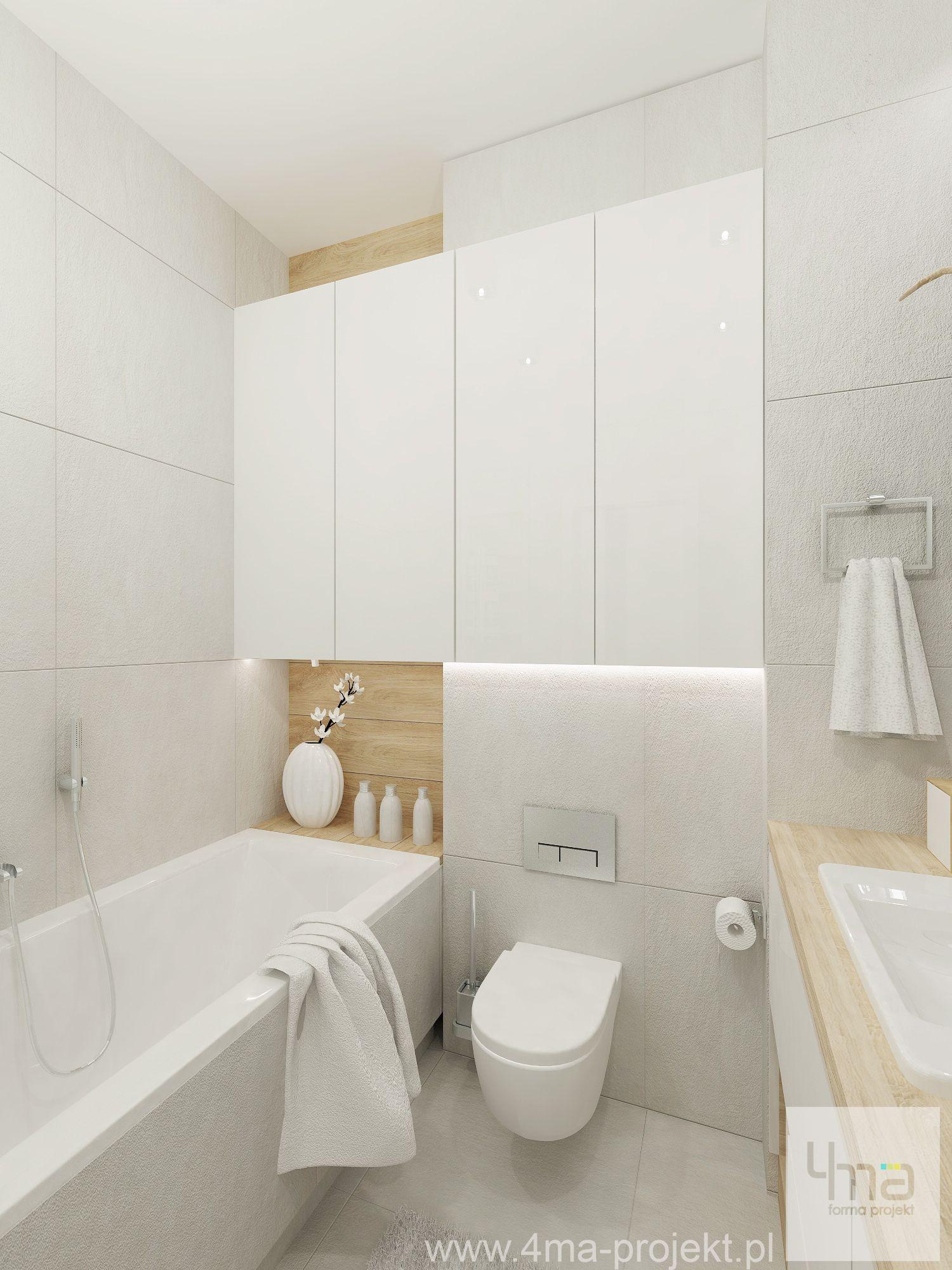 Mieszkanie Na Bielanach 4ma Projekt Architekt Projektant Projektowanie Wnetrz Warszaw Bathroom Design Small Small Space Bathroom Bathroom Interior Design
