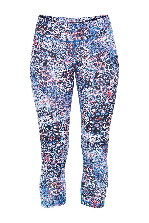 Womens Dash No Fear Capri Pant - Babylon Print - C1127CLZ1E1 - Sports & Fitness Clothing, Women, Pan...