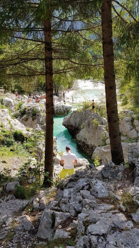 Photo of Camp Soča: wonderful nature camping on the most beautiful river in Europe!