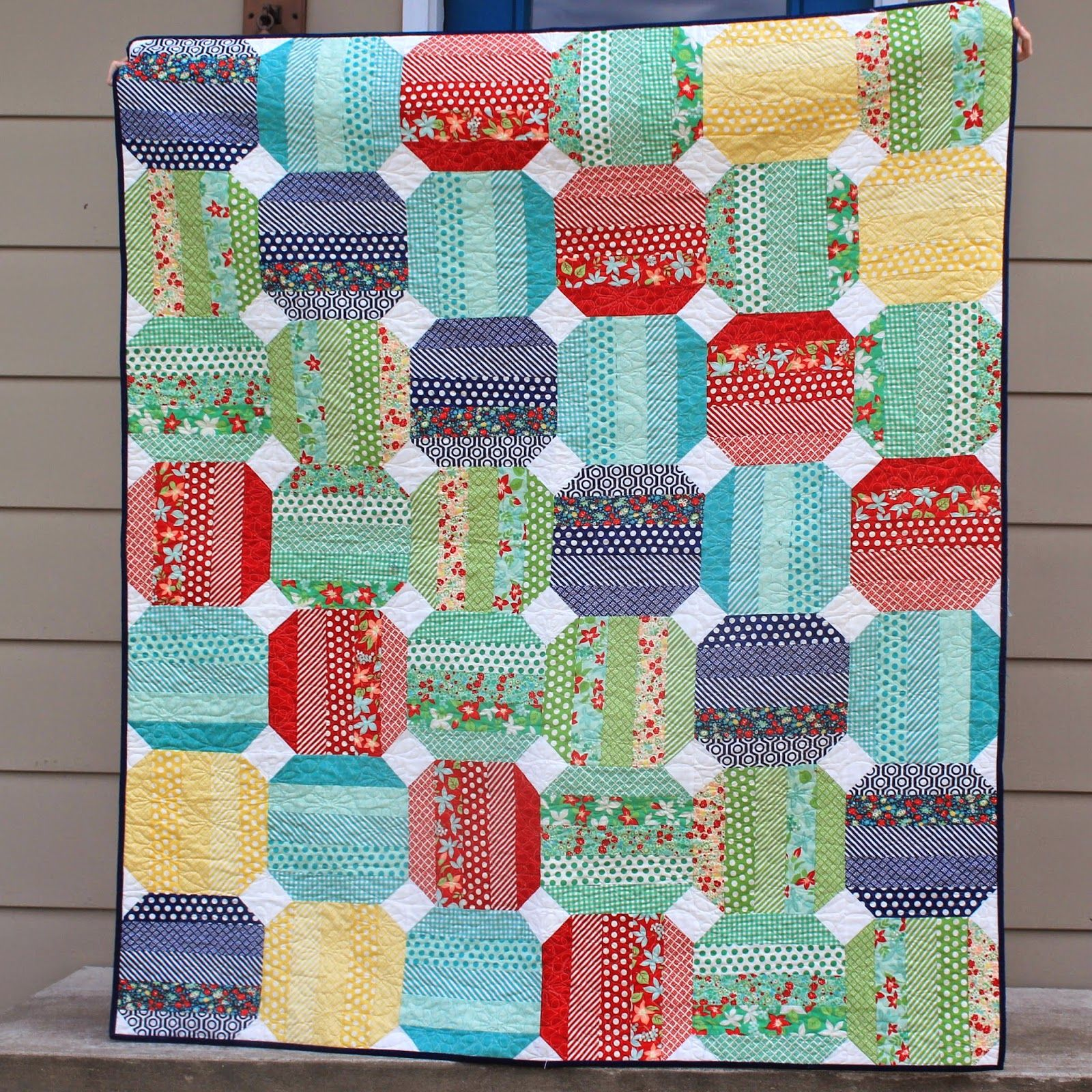 Jelly roll quilt using modas april showers quilts more quilts jelly roll quilt using modas april showers baditri Images