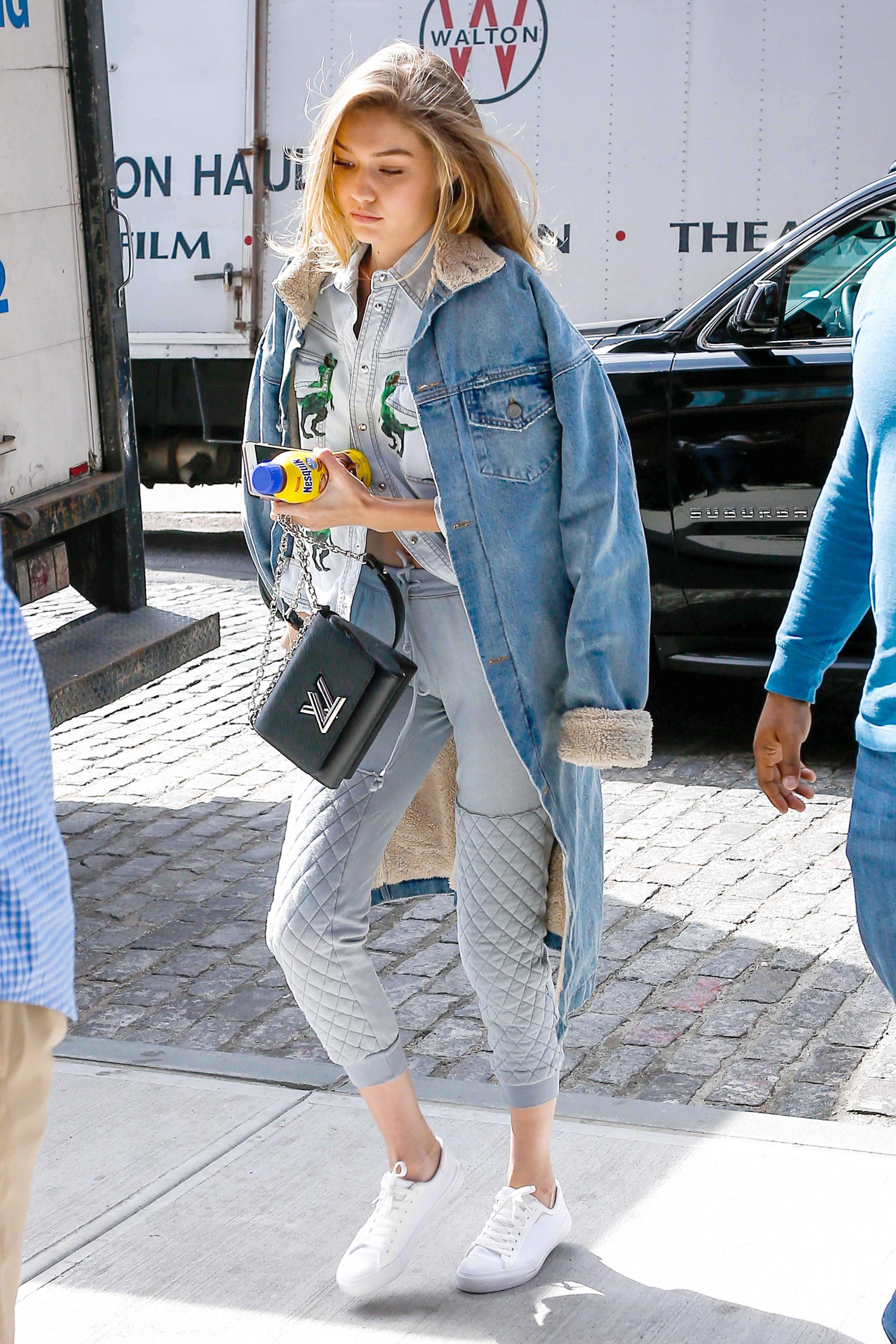 Who: Gigi Hadid Affordable Fashion Find: People Footwear white sneakers,  $60, peoplefootwear.com. Why We Love It: Classic white trainers are having  a moment ...