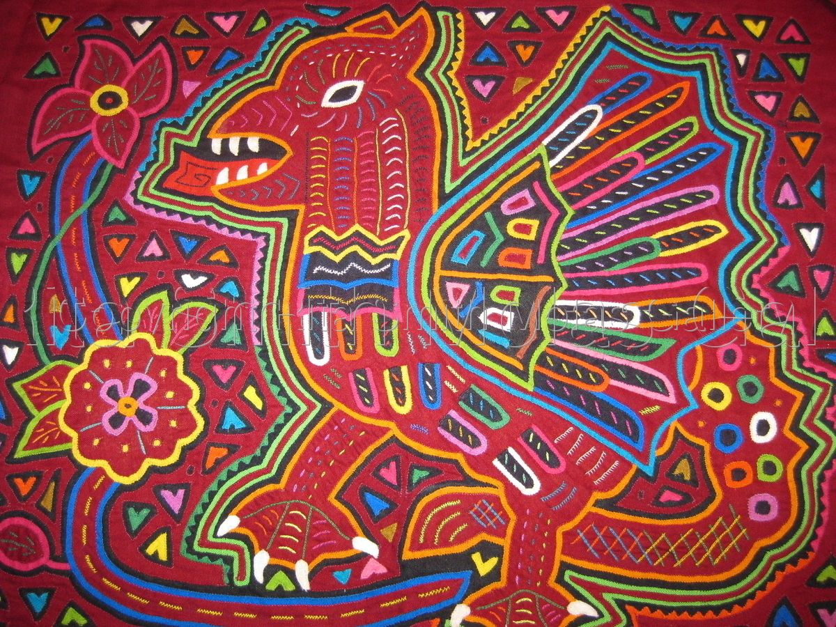 Rita Smith Cuna Molas Handmade Textiles Molitas Mola Art