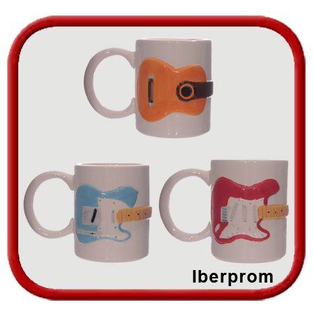 Café musical. Colección de Mugs diseño.