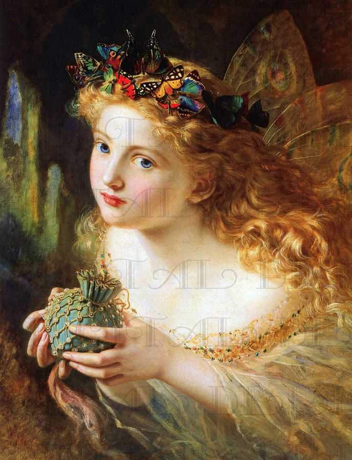 Fairy with butterfly headress