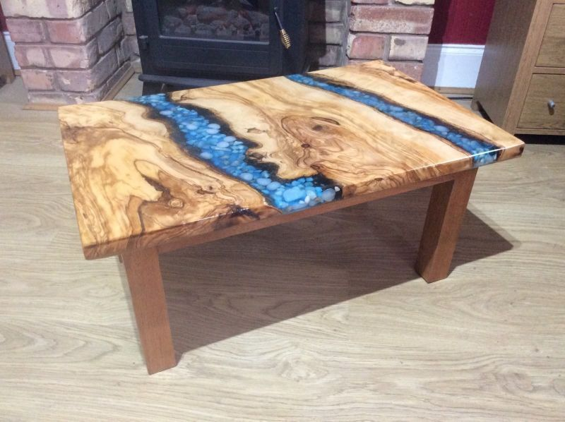 22 Unique River Tables To Beautify Your Living Room Small Coffee