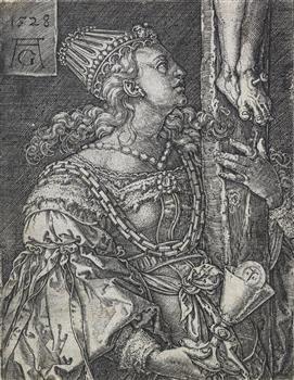 Faith, 1528, Heinrich Aldegrever