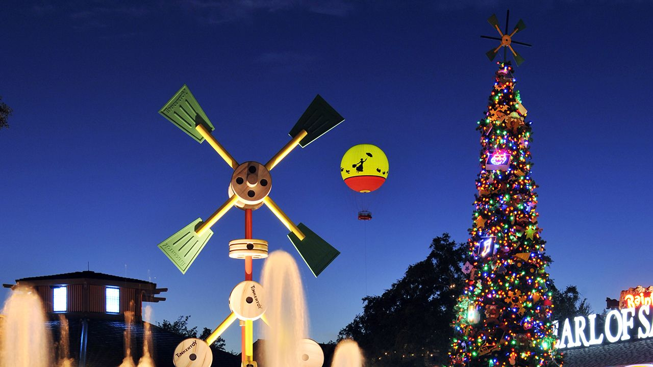 Disney Springs Christmas