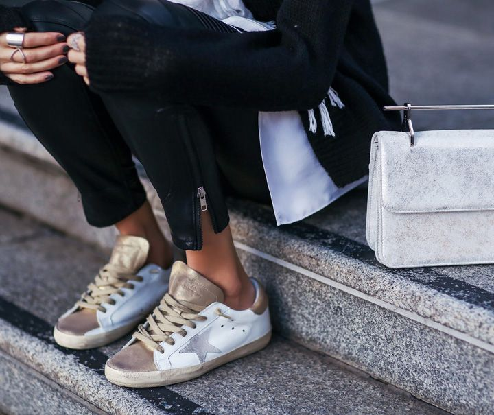 802ffd4a18db4 GOLDENGOOSE #STREETSTYLE | style in 2019 | Fashion, Shoes, Sneakers ...
