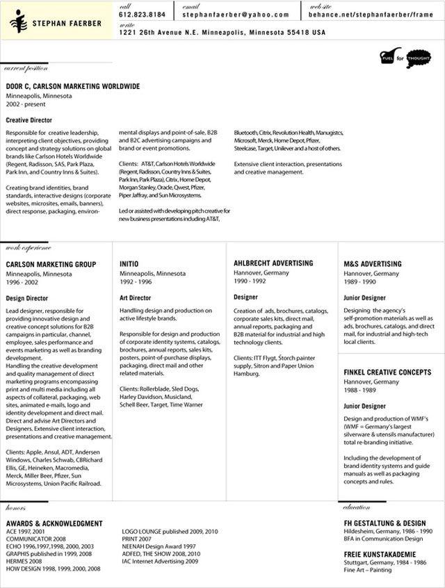 Pin By Duhita Sinantya On Business Cards Best Cv Template Resume Design Resume