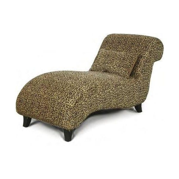 Attrayant **NEW**           Leopard Chaise Lounge Chair Animal Print