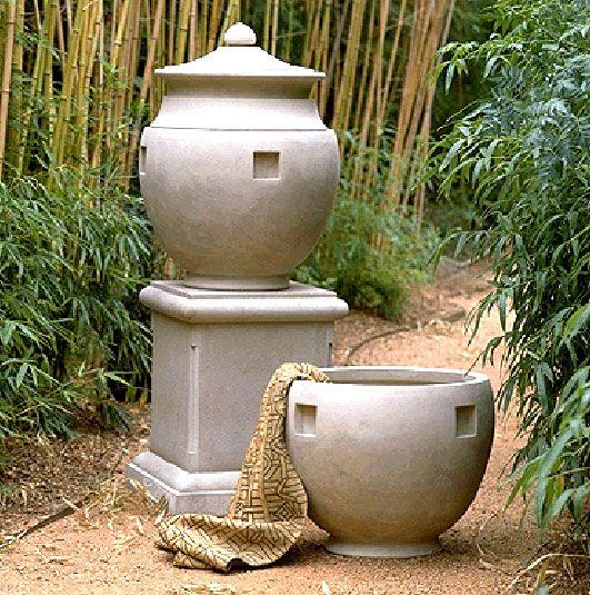 Classic Pediment | Planters | Fine Cast Stone Urns | Jardinieres |  Pedestals | Garden Ornaments
