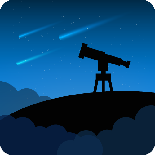 I designed this Android app icon for APOD, Astronomy Photo