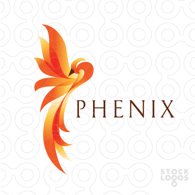 Download Phoenix Bird Logo Maker PNG