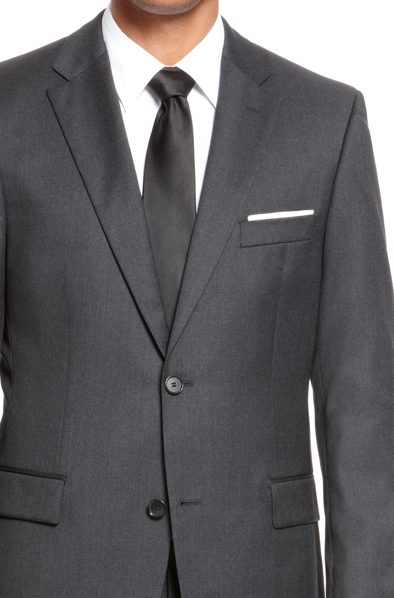 5527ea15 BOSS 'Pasolini/Movie' | Comfort Fit, Super 110 Virgin Wool Suit Dark Grey  free shipping