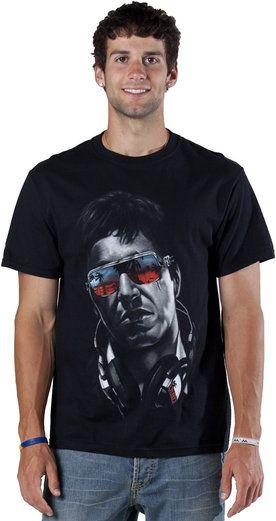 533132b6 DJ Tony Montana Scarface Shirt | DJ Atire | Shirts, Movie tees, Mens ...