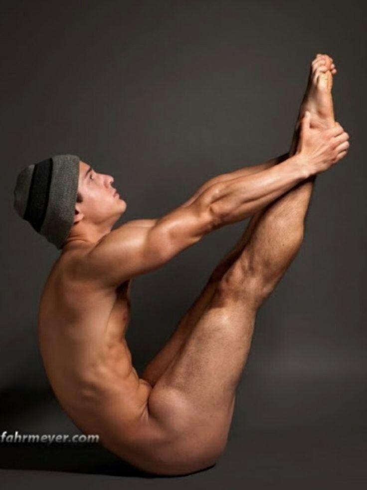 Naked Man Yoga 26