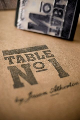 FFFFOUND! | Foreign Policy Design Group » Table Nº1 — Designspiration