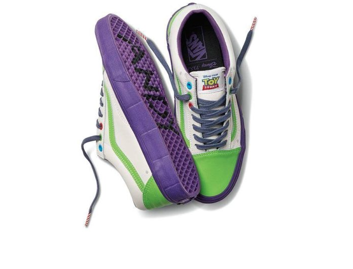 Vans Disney Pixar Toy Story Buzz Lightyear Old School Shoes