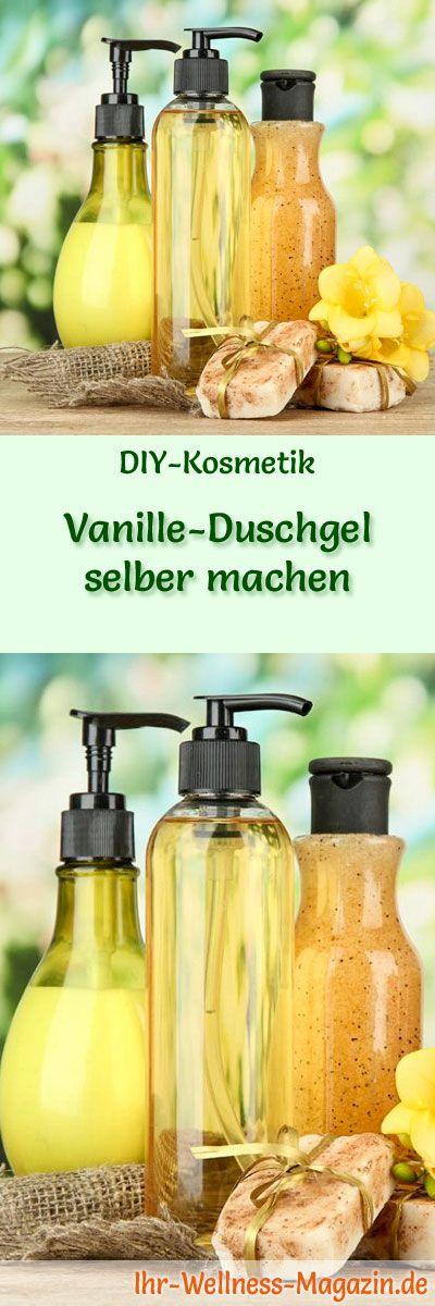 vanille duschgel selber machen rezept und anleitung beauty kosmetik duschgel selber. Black Bedroom Furniture Sets. Home Design Ideas