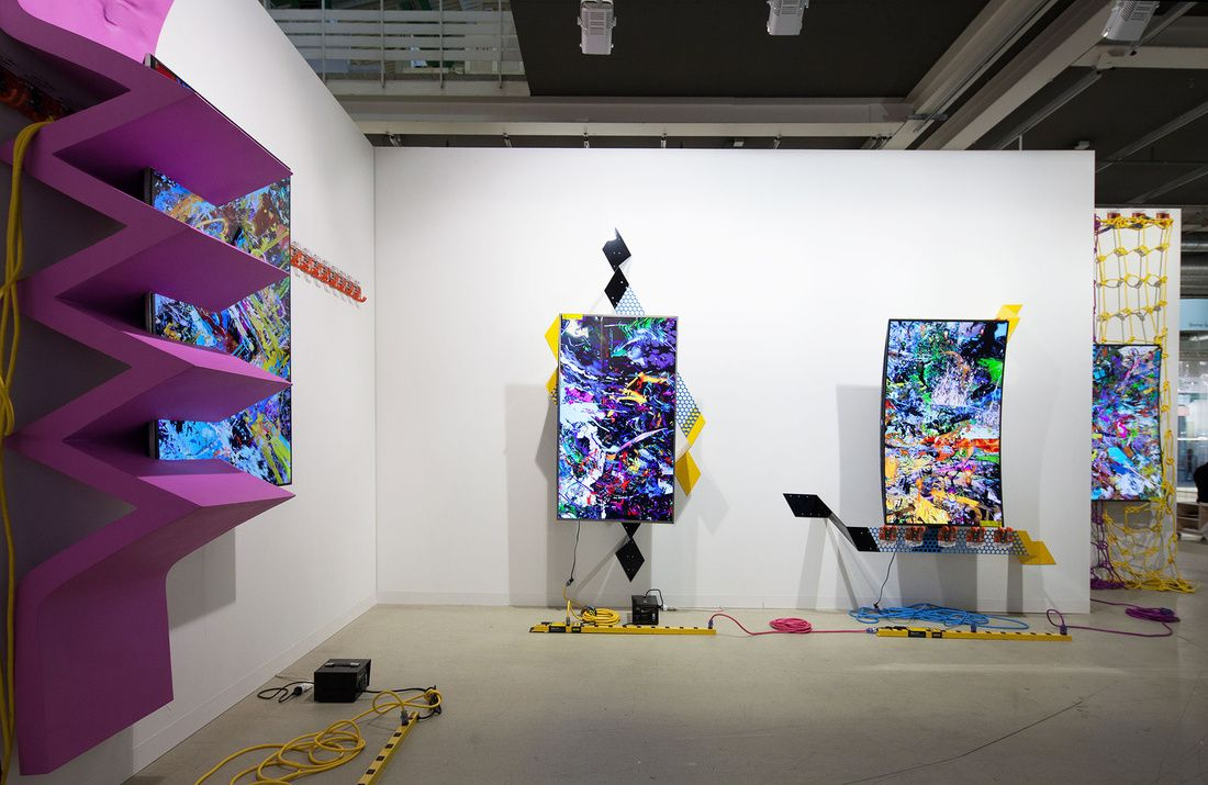 New Media Is The Language Of Emerging Artists At Art Basel Statements