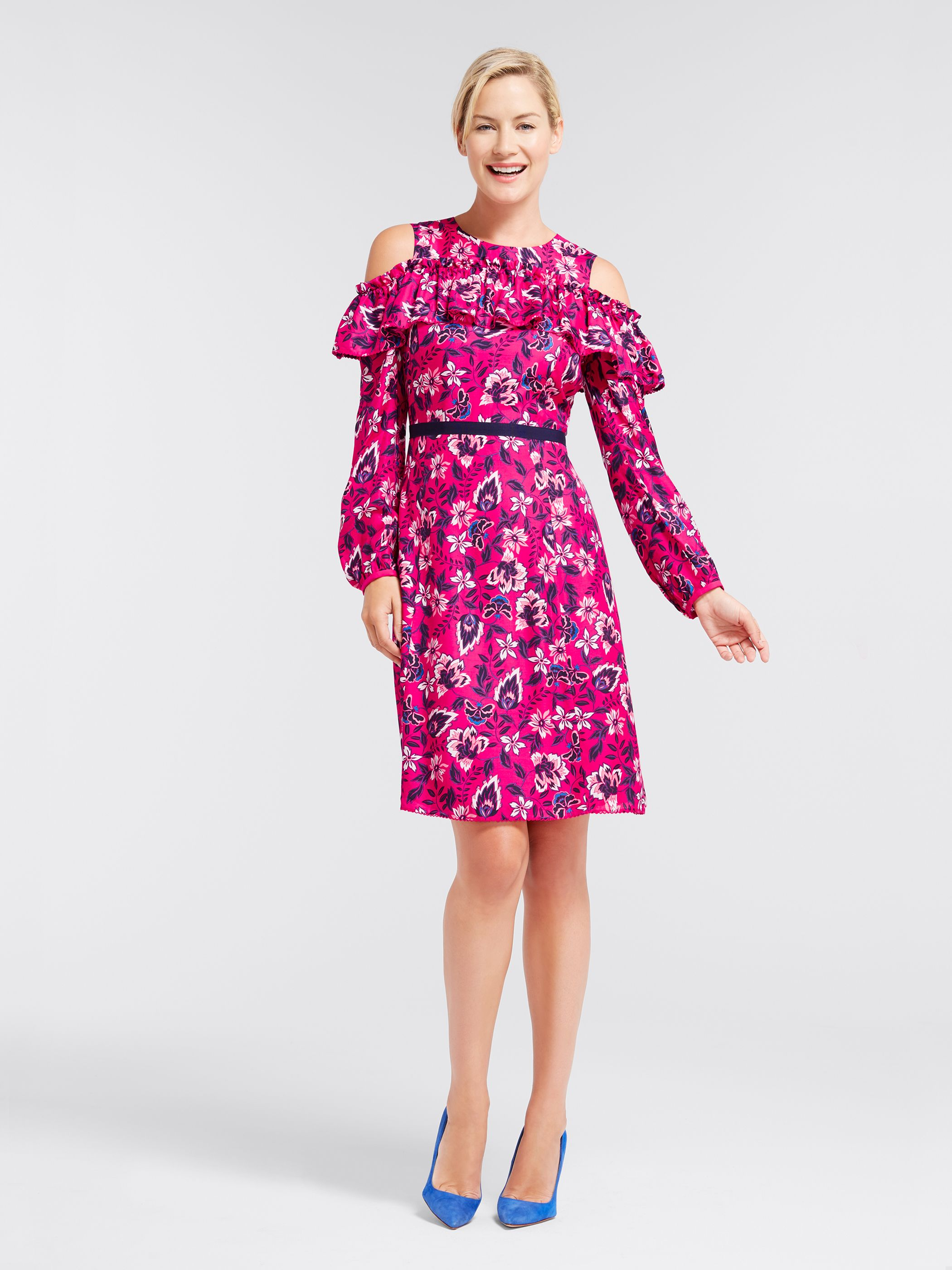 Draper James - Francie Floral Off The Shoulder Dress   *Apparel ...