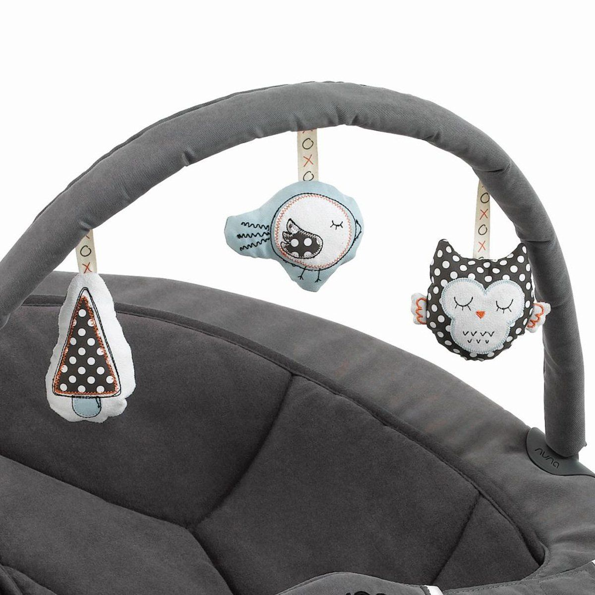 Accessorize your Nuna LEAF Toy Bar with engaging textures