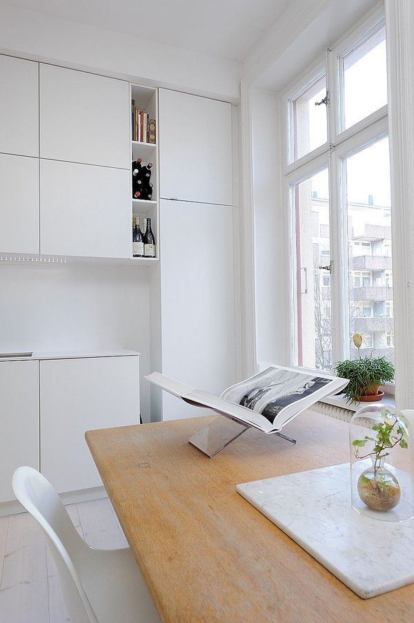 One Room Apartment In Stockholm Showcasing An Ingenious Interior