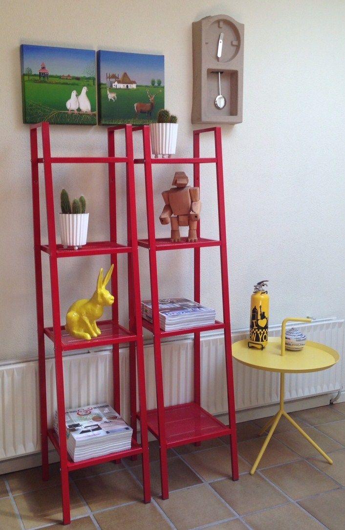 Ikea Lerberg In Red