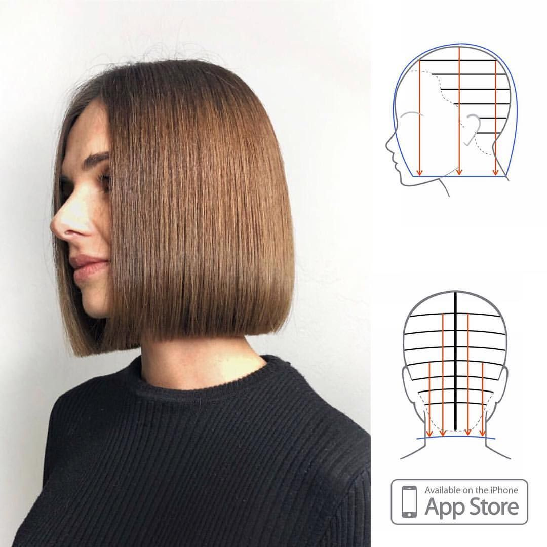 Perfect Classic Bob By Antonhair It Is One Of The Hardest Haircuts To Master Technically Straight Bob Hairstyles Bob Hairstyles Short Straight Bob Hairstyles