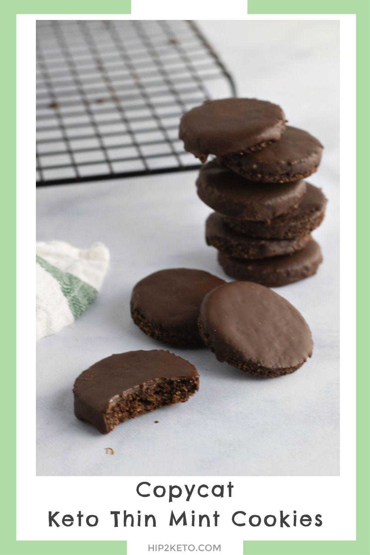 Keto Thin Mints Girl Scout Cookies Copycat Recipe Hip2keto In
