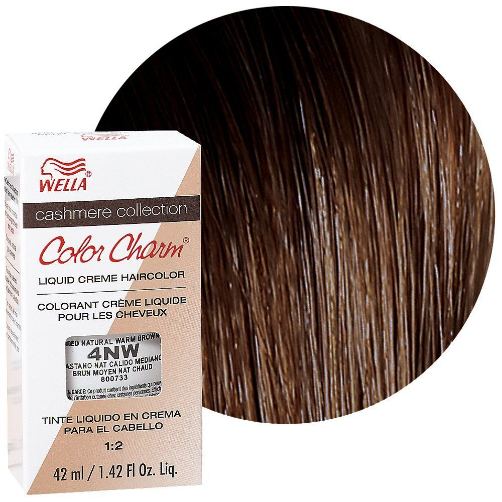 Wella Color Charm Liquid Crme Hair Medium Natural Warm Brown Brunbrun Paris Ultra Rich Lipstick Gingersnap 4nw 14oz 42ml Check This Awesome Product By Going To The Link At Image Hairdo