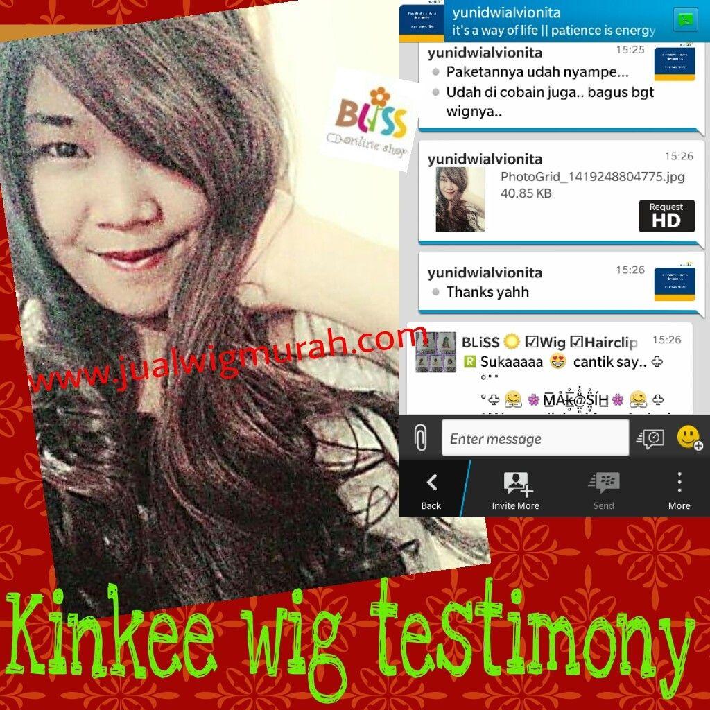 Customer's Testimonials | Jual Wig Murah - www.jualwigmurah.com
