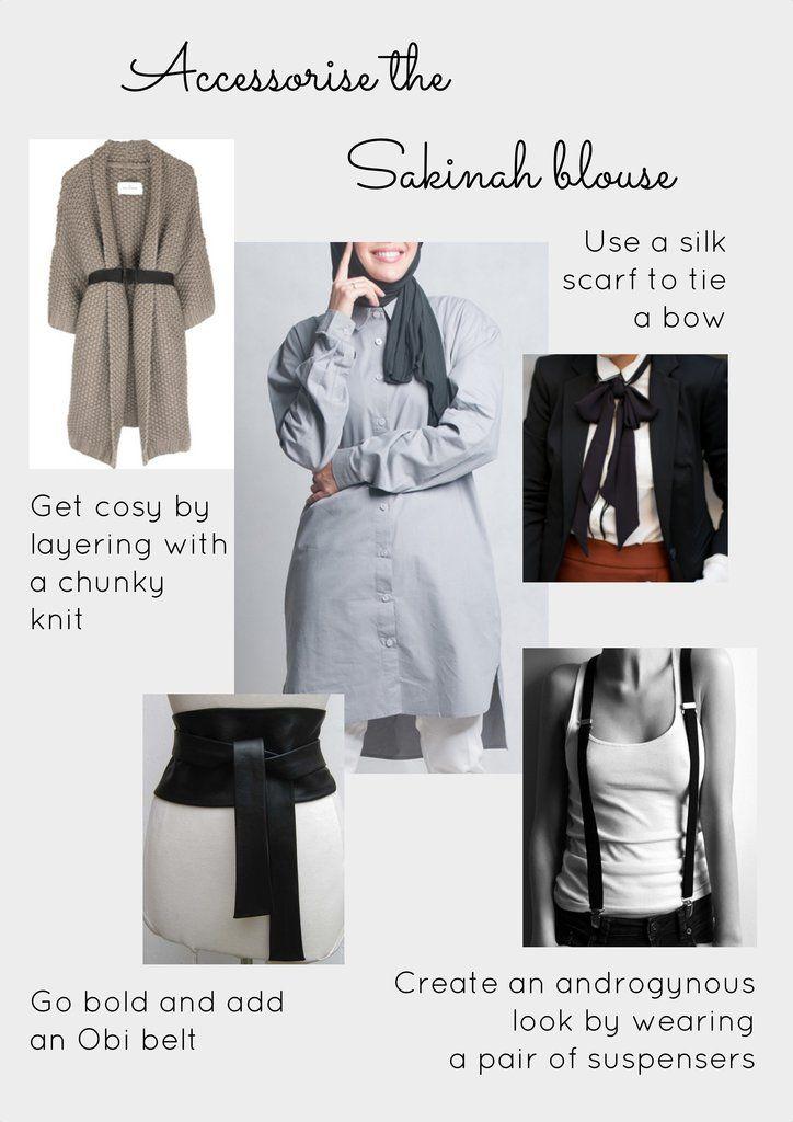 Modesty clothing blog - How to dress in modesty clothing - Sakinah blouse – Desa Life