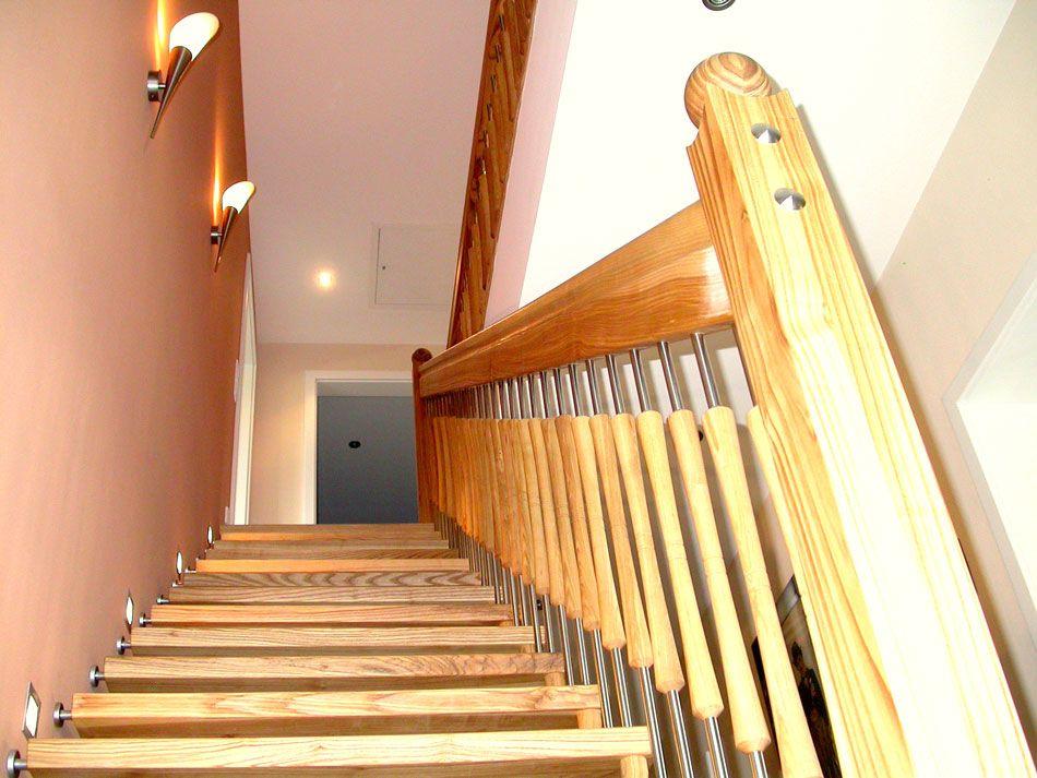 Treppenabschluss Wohnideen Treppen Pinterest Freitragende - unter der treppe wohnideen