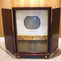Vintage Tv In Kast.1954 Westinghouse Television And Yes The Screens On The Early