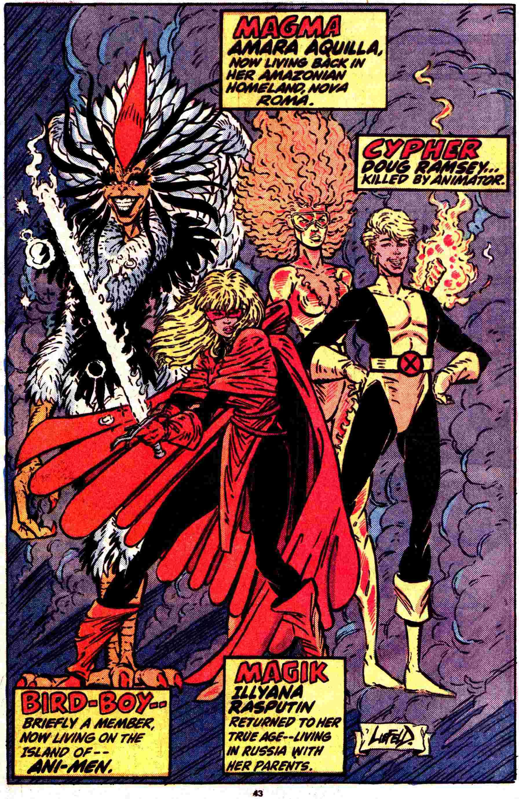 List of DC Comics characters: S