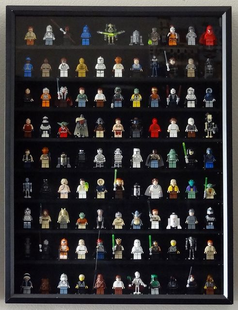 Figurine Display Case Frame LEGO THE INCREDIBLES minifigs figures
