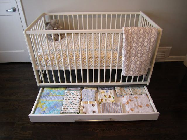 Simple Crib With Storage Nursery Storage Cribs Ikea Crib