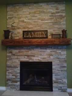 fireplace mantel shelves  Google Search Ideas for the House