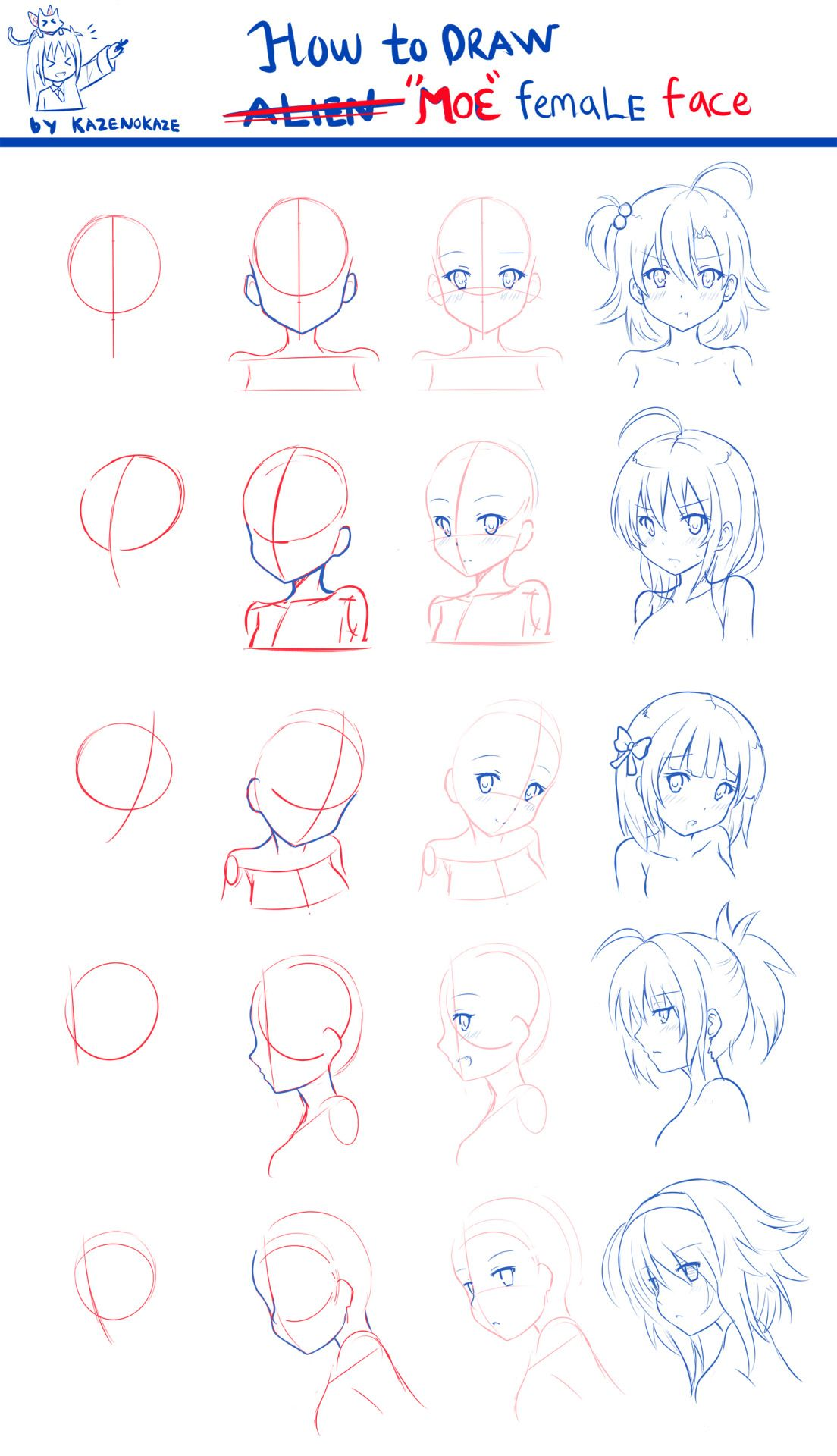 Art References Anime Drawings Tutorials Anime Art Tutorial Anime Face Drawing