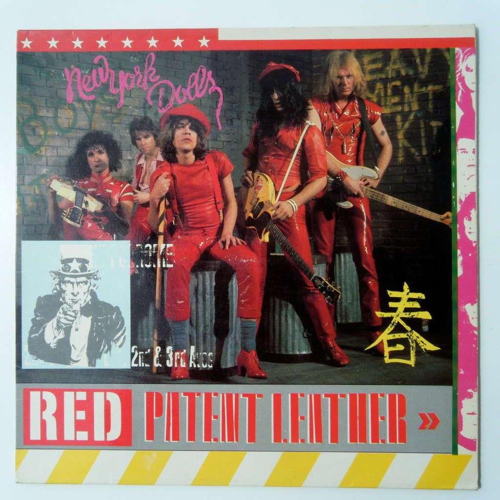New York Dolls – Red Patent Leather (Red Vinyl) | Rock album covers,  Johnny thunders, Vinyl