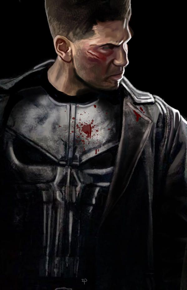 Pin By David Meneces On Tv Moderno: Punisher By HeroforPain On DeviantArt
