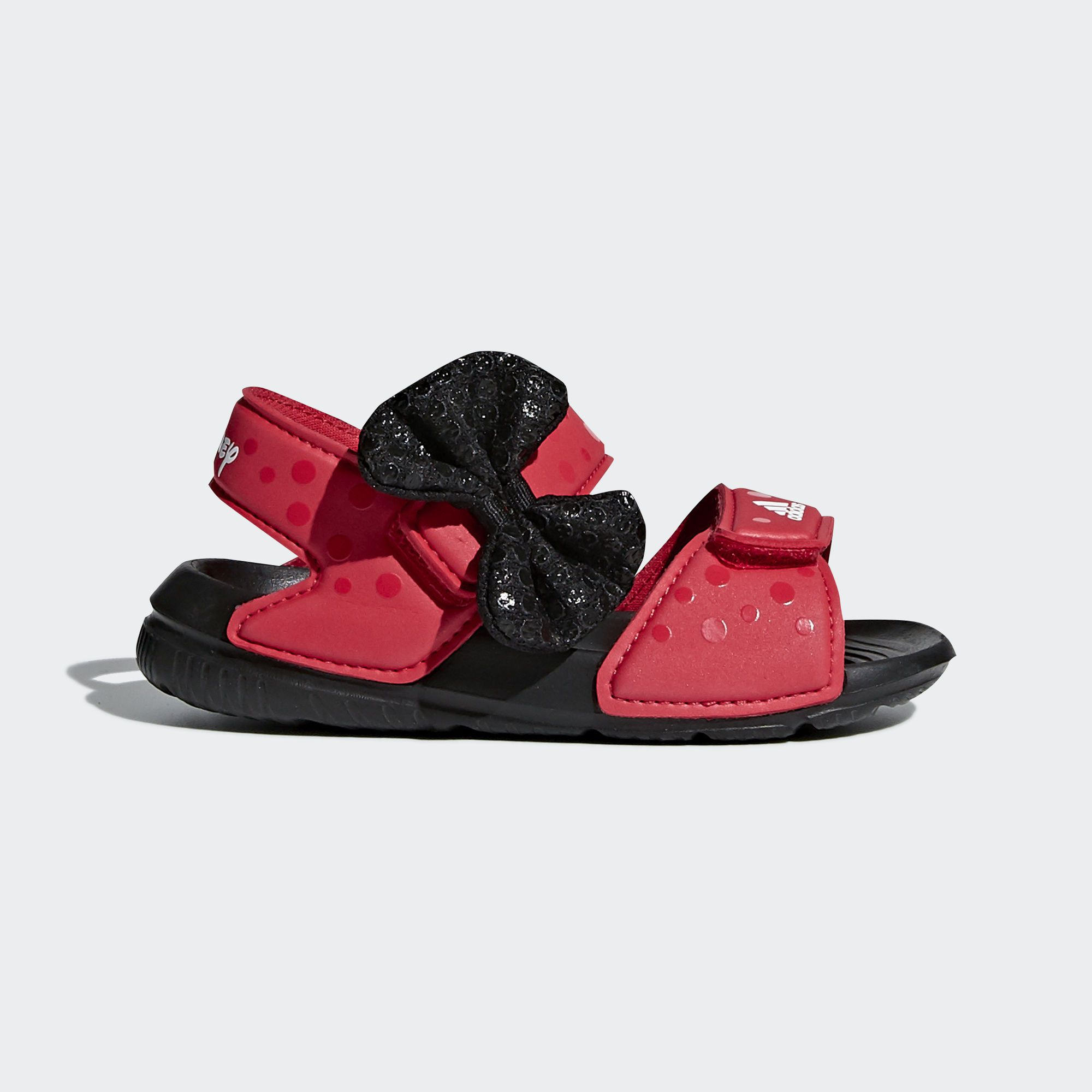 c5105cf8e83 adidas Disney Minnie AltaSwim Sandals - Red | adidas US | Footwear