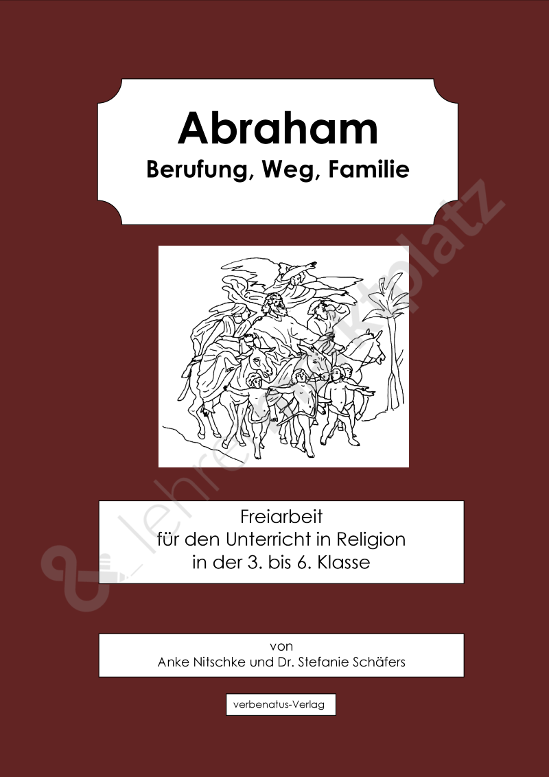 abraham berufung weg familie bestseller religion sek i ii. Black Bedroom Furniture Sets. Home Design Ideas